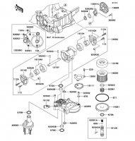 オイルポンプ ZRX1200 DAEG 2012(ZR1200DCF) - Kawasaki純正部品
