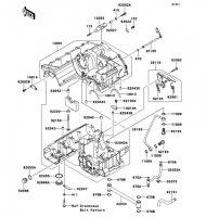 クランクケース ZRX1200 DAEG 2012(ZR1200DCF) - Kawasaki純正部品