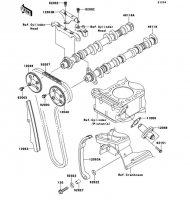 カムシャフト/テンショナ ZRX1200 DAEG 2012(ZR1200DCF) - Kawasaki純正部品
