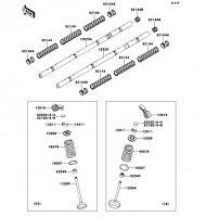 バルブ ZRX1200 DAEG 2012(ZR1200DCF) - Kawasaki純正部品