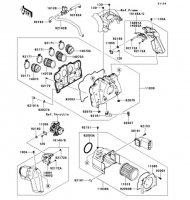 エアクリーナ ZRX1200 DAEG 2012(ZR1200DCF) - Kawasaki純正部品