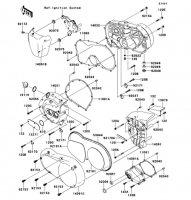 エンジンカバー VULCAN 900 CLASSIC 2013(VN900BDFA) - Kawasaki純正部品