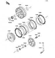 クラッチ VULCAN 900 CLASSIC 2013(VN900BDFA) - Kawasaki純正部品