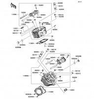 シリンダヘッド VULCAN 900 CLASSIC 2013(VN900BDFA) - Kawasaki純正部品
