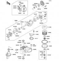 オイルポンプ ZRX1100 1998(ZR1100-C2) - Kawasaki純正部品
