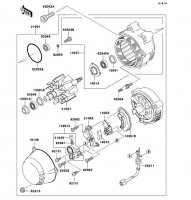 ゼネレータ ZRX1100 1997(ZR1100-C1) - Kawasaki純正部品