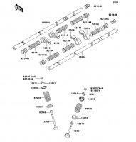 バルブ ZRX1100 1997(ZR1100-C1) - Kawasaki純正部品
