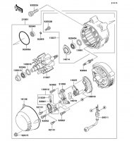 ゼネレータ ZRX1100-� 1997(ZR1100-D1) - Kawasaki純正部品