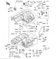 クランクケース ZRX1100-� 1997(ZR1100-D1) - Kawasaki純正部品