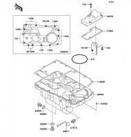 ブリーザカバー/オイルパン ZEPHYR 1100 2006(ZR1100A6F) - Kawasaki純正部品