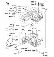 クランクケース ZEPHYR 1100 2006(ZR1100A6F) - Kawasaki純正部品