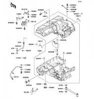 クランクケース ZEPHYR 1100 1992(ZR1100-A1) - Kawasaki純正部品