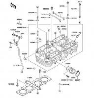 シリンダヘッド ZEPHYR 1100 1992(ZR1100-A1) - Kawasaki純正部品