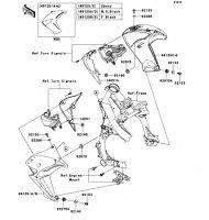 シュラウド ER-4N ABS 2013(ER400CDF) - Kawasaki純正部品