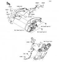 カウリング ER-4N ABS 2013(ER400CDF) - Kawasaki純正部品