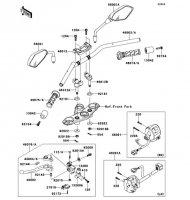 ハンドルバー ER-4N ABS 2013(ER400CDF) - Kawasaki純正部品