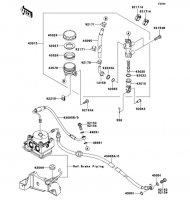 リヤマスタシリンダ ER-4N ABS 2013(ER400CDF) - Kawasaki純正部品