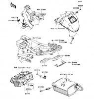 フユーエルインジェクション ER-4N ABS 2011(ER400CBF) - Kawasaki純正部品