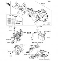 Chassis Electrical Equipment Ninja 1000 2013(ZX1000GDF) - Kawasaki純正部品