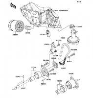 Oil Pump Ninja 650 2012(EX650ECS) - Kawasaki純正部品