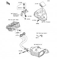 Fuel Injection Ninja 650 2012(EX650ECS) - Kawasaki純正部品
