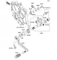 Gear Change Mechanism Ninja 650 2012(EX650ECS) - Kawasaki純正部品