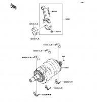 Crankshaft Ninja 650 2012(EX650ECS) - Kawasaki純正部品