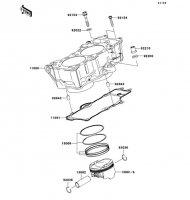 Cylinder/Piston(s) Ninja 650 2012(EX650ECS) - Kawasaki純正部品