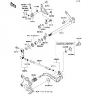 Gear Change Mechanism Ninja ZX-10R 2013(ZX1000JDF) - Kawasaki純正部品