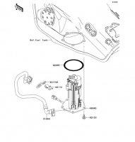Fuel Pump Ninja ZX-10R 2011(ZX1000JBF) - Kawasaki純正部品