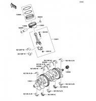 Crankshaft/Piston(s) Ninja ZX-10R 2011(ZX1000JBF) - Kawasaki純正部品