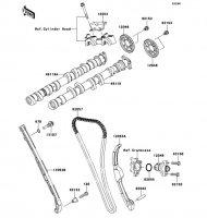 Camshaft(s)/Tensioner Ninja ZX-10R ABS 2011(ZX1000KBF) - Kawasaki純正部品