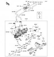 Throttle Ninja ZX-14R 2012(ZX1400ECF) - Kawasaki純正部品