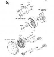 Generator Ninja ZX-14R ABS 2012(ZX1400FCF) - Kawasaki純正部品