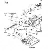 Oil Pump Ninja ZX-14R ABS 2012(ZX1400FCF) - Kawasaki純正部品