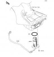 Fuel Pump Ninja ZX-14R ABS 2012(ZX1400FCF) - Kawasaki純正部品