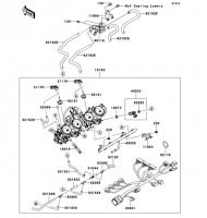 Throttle Ninja ZX-14R ABS 2012(ZX1400FCF) - Kawasaki純正部品