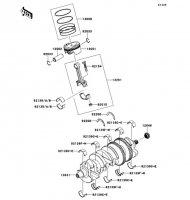 Crankshaft/Piston(s) Ninja ZX-14R ABS 2012(ZX1400FCF) - Kawasaki純正部品