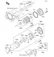 オイルポンプ 250TR 2012(BJ250KCF) - Kawasaki純正部品