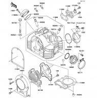 シリンダヘッド 250TR 2012(BJ250KCF) - Kawasaki純正部品
