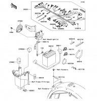 車体電装品 250TR 2011(BJ250KBFA) - Kawasaki純正部品