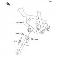 スタンド 250TR 2011(BJ250KBFA) - Kawasaki純正部品