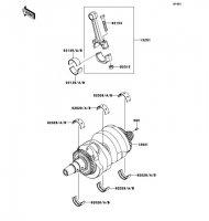 Crankshaft ER-6N 2012(ER650ECF) - Kawasaki純正部品