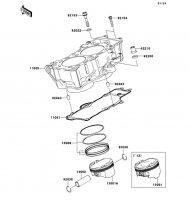 Cylinder/Piston(s) ER-6N 2012(ER650ECF) - Kawasaki純正部品
