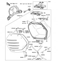 Accessory 1400GTR 2009(ZG1400A9F) - Kawasaki純正部品