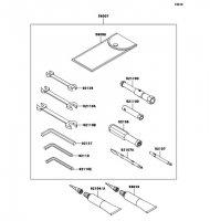 Owner's Tools 1400GTR 2009(ZG1400A9F) - Kawasaki純正部品