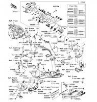 Chassis Electrical Equipment(A9F) 1400GTR 2009(ZG1400A9F) - Kawasaki純正部品