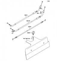 Cables 1400GTR 2009(ZG1400A9F) - Kawasaki純正部品