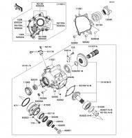 Front Bevel Gear 1400GTR 2008(ZG1400A8F) - Kawasaki純正部品