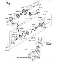 Starter Motor 1400GTR 2008(ZG1400A8F) - Kawasaki純正部品